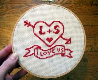 A stitch in time makes a great Valentine's Day gift