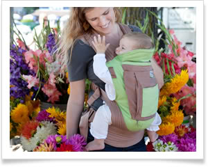 It's a baby carrier. It's a seat. It's a lifesaver!