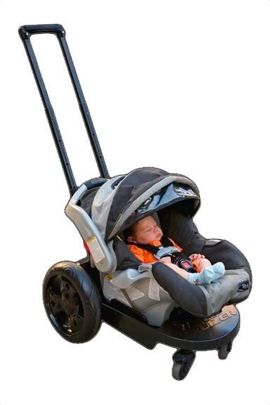 Who needs a stroller when you've got a Cruizer?