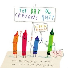 The Day the Crayons Quit: A very cool creativity manifesto