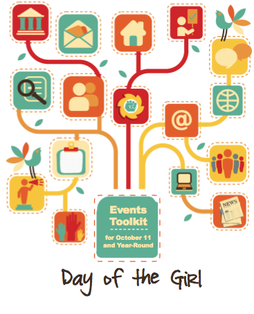 Smart tees for girls, to celebrate today's International Day of the Girl Child