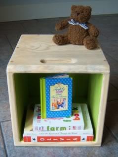 Toy storage, cubed