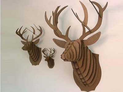When I Think Nursery Decor, I think Deer Head