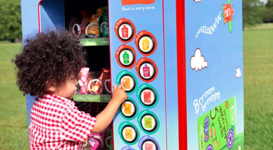 Vending machines that are healthy for kids? Please, sir, I want some more.