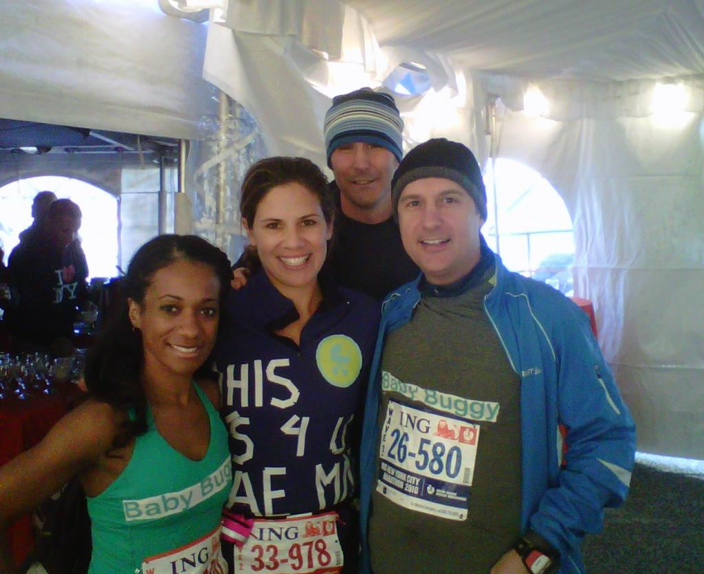 Calling all runners! Team Baby Buggy needs you for NYC Marathon 2013