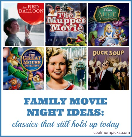 Family Movie Night Ideas: 7 classic kids' movies that still hold up today