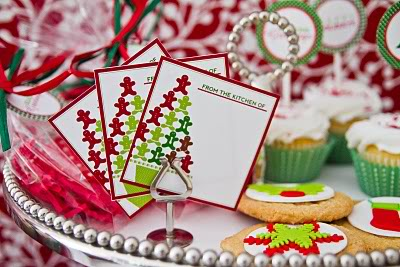 Holiday printables for the last minute-gift wrapping frenzy
