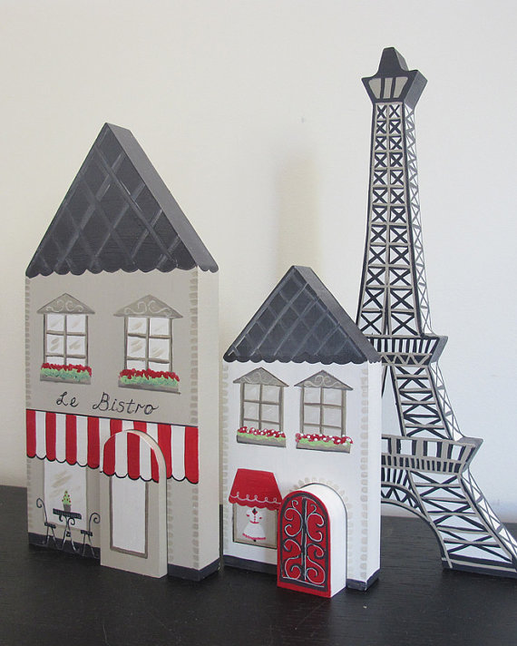 Celebrate La Fête Nationale with your very own French village playset