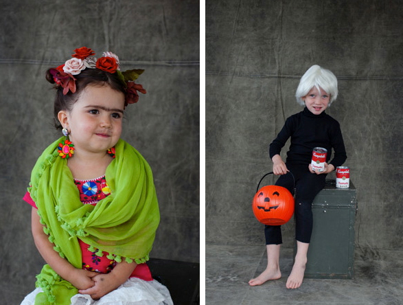 Web Coolness: artsy Halloween costumes, ONE Moms, and an organized playroom
