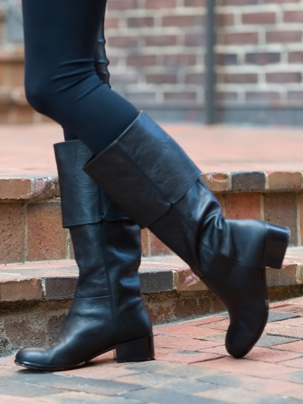 Giving high heels the boot