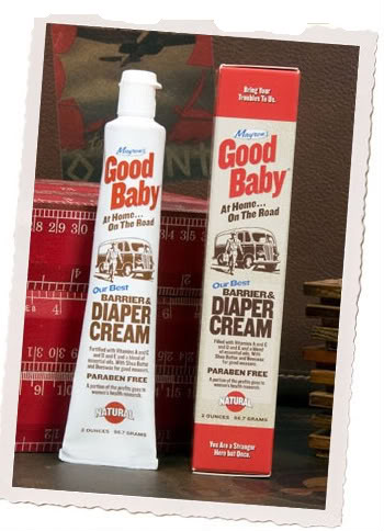 Good Baby. Good mommy. Good diaper cream. Everyone wins.