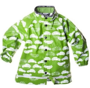 Kids' rain gear in June, because Mother Nature likes to break the rules