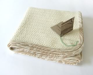 Green Thread Blankets. And they're not kidding.