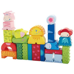 Zoo animals happy in the wilds of your toychest