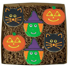 Just try to keep your costumed little hands off these cookies