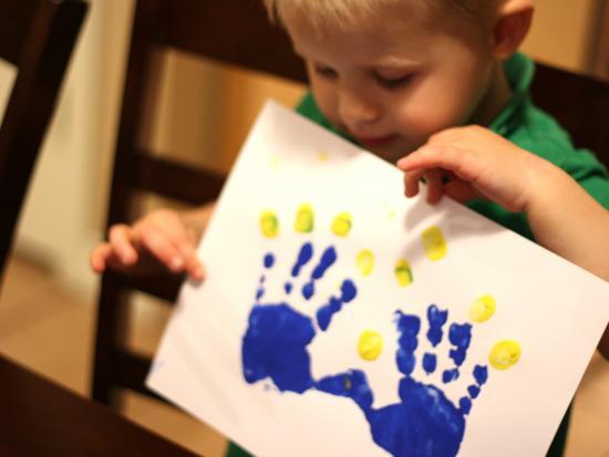Make menorah magic: the world's easiest Hanukkah craft for kids