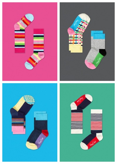 Sock it to 'em: colorful feet are happy feet