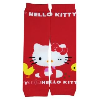 Hello Kitty BabyLegs. Prepare to squee in Japanese.