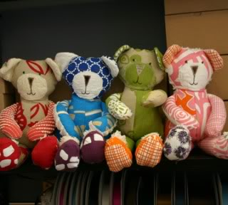Henry Road bears – A stuffed animal we can get behind
