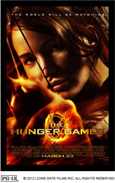 The Hunger Games is coming. Bring the baby!