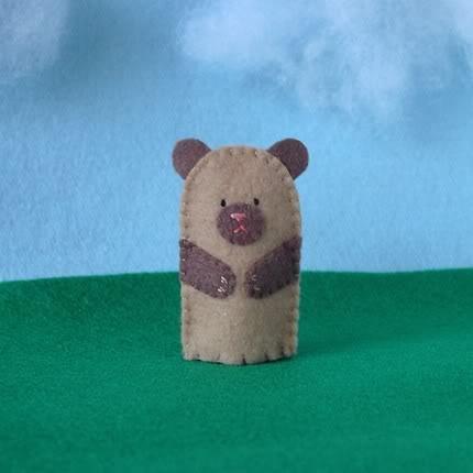 Cute Bear ISO Good Home. Fingers Will Do.
