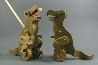 Open the door, get on the floor, everybody walk this dinosaur