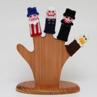Hail to the finger puppet