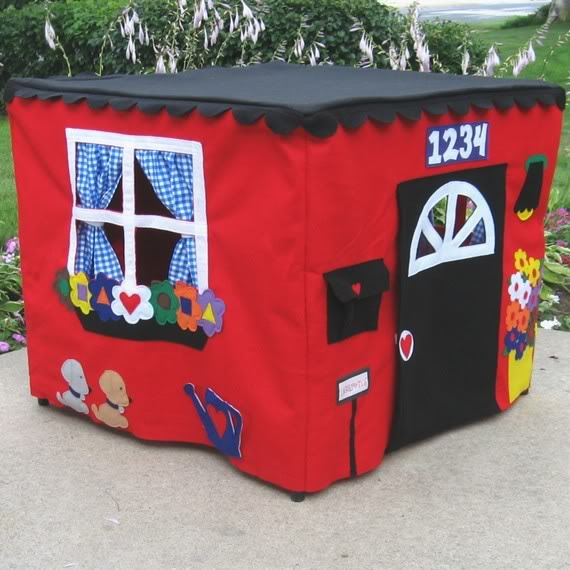 Turning any table into the best playhouse ever