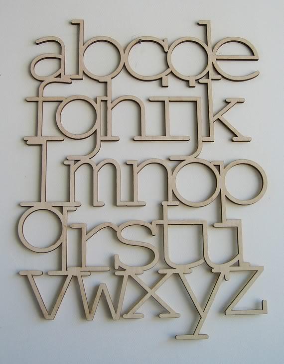 Art, meet alphabet