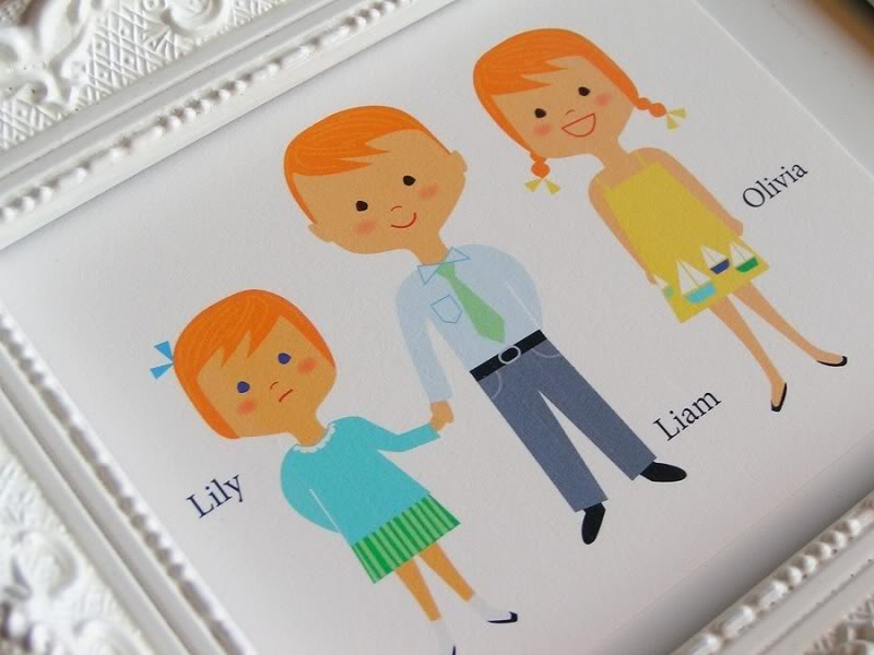The cutest personalized notecards perhaps ever. Ever!