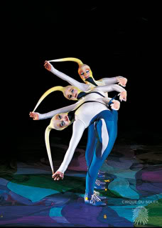 Cirque du Soleil – now performing in your living room between the tricycle and the house plant