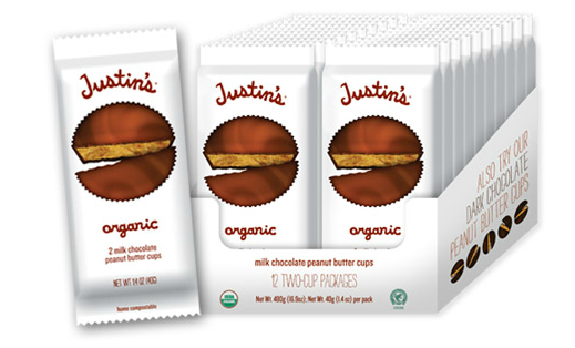 You got organic peanut butter in my chocolate!