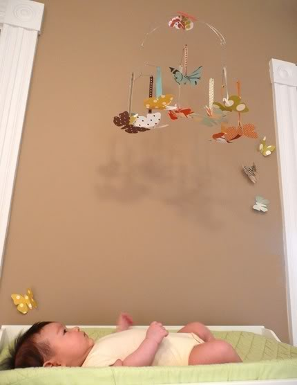 Paper Mobiles – Design Meets Function for one very happy baby