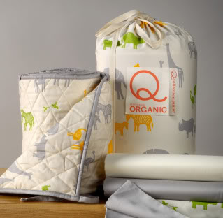 Organic crib bedding for the wild at heart