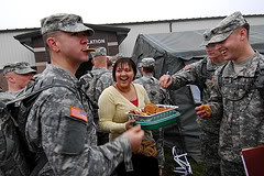 Send cookies to the troops without turning on your oven