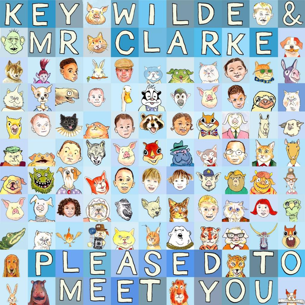You'll be pleased to meet Key Wilde & Mr. Clarke's new CD