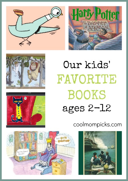 Our Children S Favorite Books For Ages 2 12 Lots Of Ideas For