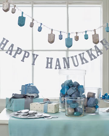Last minute Hanukkah crafts from Martha Stewartstein
