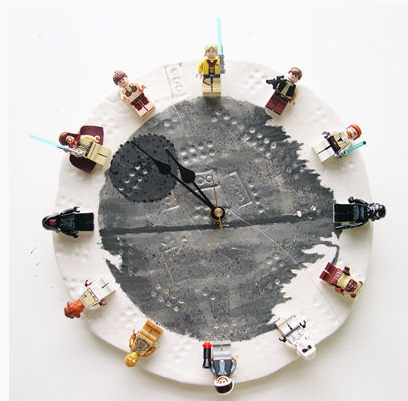A DIY LEGO Star Wars Clock: a better way for kids to ring in the New Year than champagne