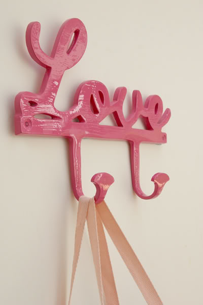A Coat Hook Made With Love