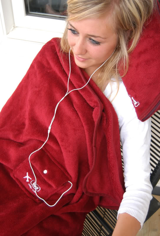 Just Say No to Airplane Blankets