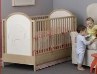 Introducing the 100% natural convertible crib. Thanks Q Collection.