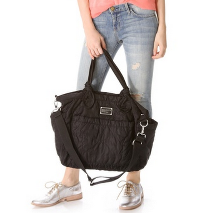 The designer diaper bag you won't give up with the diapers