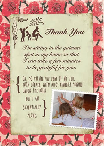 Thank You Cards with Attitude