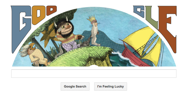 Happy birthday Maurice Sendak! From Google and from us.