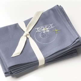 Cloth napkins for kids that don't look like cloth napkins for kids