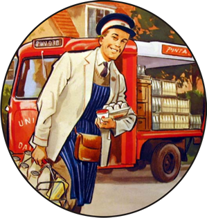 Because the Old Milkman Joke Never Gets Tired