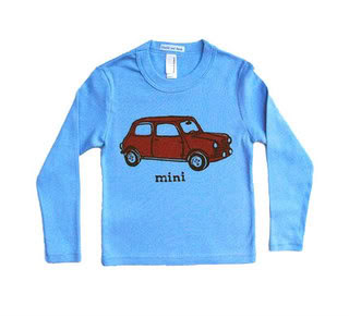 The Mini Cooper – Now coming to a toddler tee near you.