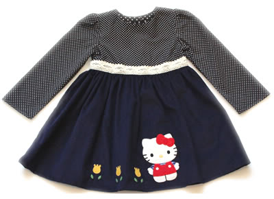 Hello, cute back to school clothes! (Also, Hello Kitty)