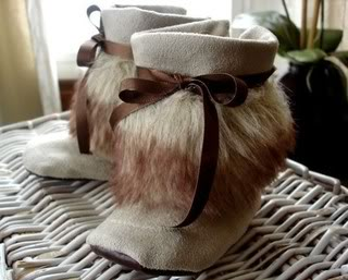 Baby Mukluks –  Yeah, I had no idea what they were either